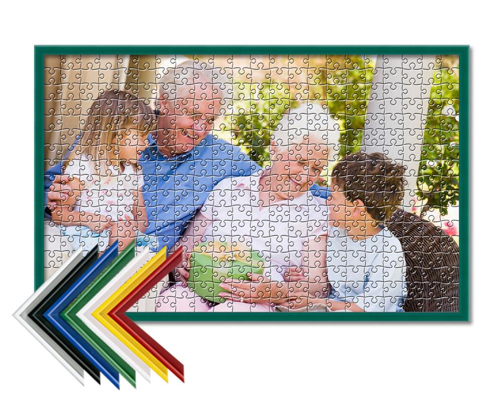 Puzzle personalizado enmarcado 500 piezas | Puzzle Prix
