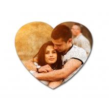 Puzzle personalizado enmarcado corazón 111 piezas