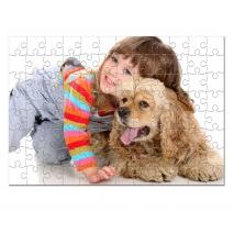Puzzle de madera de 96 piezas
