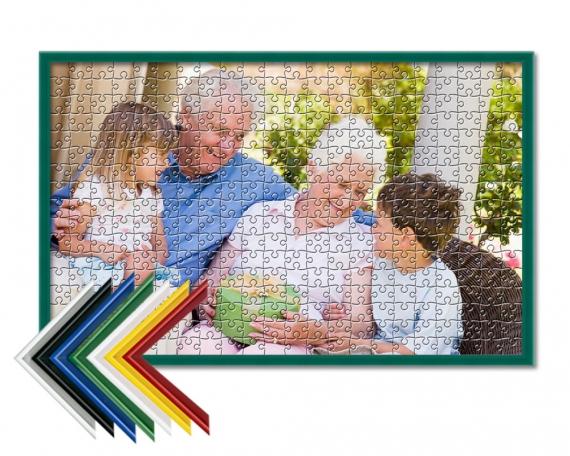 Puzzle personalizado enmarcado 500 piezas