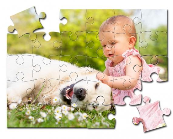 Puzzle de madera de 30 piezas